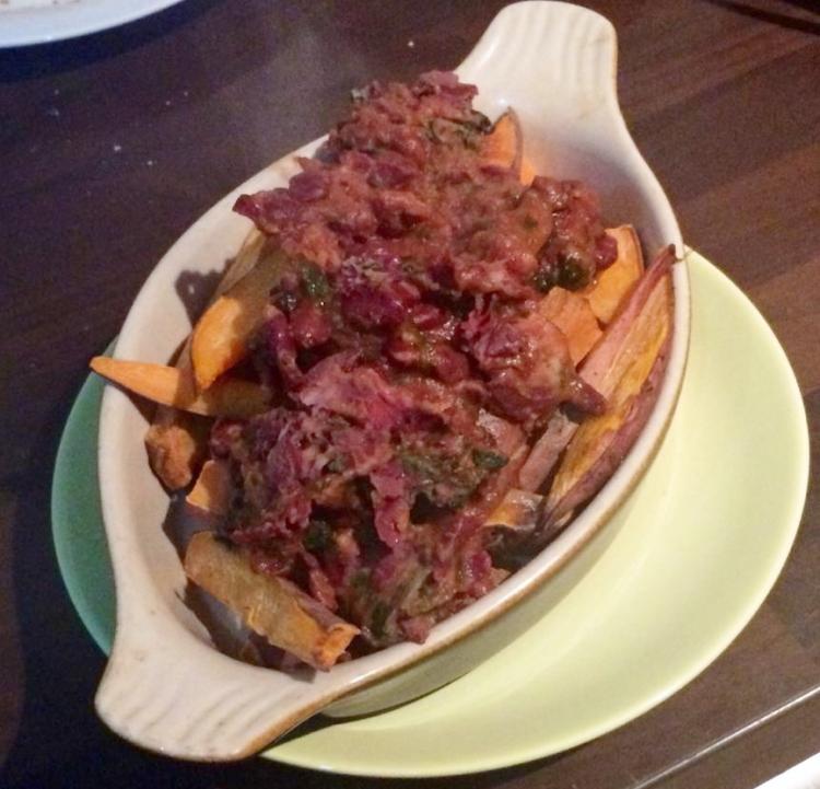 chili-loaded-sweet-potato-fry-recipe