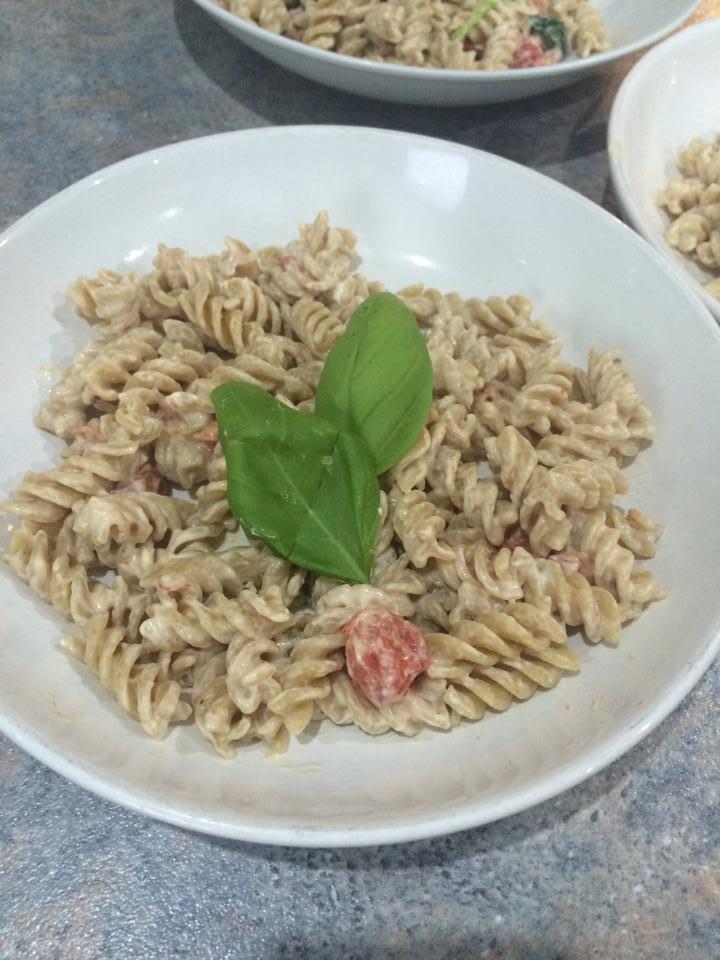 fdblogger-garlic-tomato-pasta